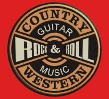 Country Western Rock&roll One Piece - Short Sleeve