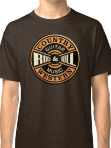 Country Western Rock&roll Classic T-Shirt