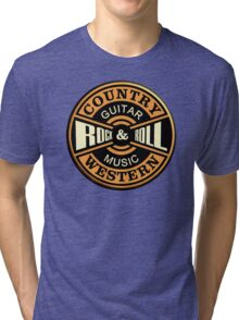 Country Western Rock&roll Tri-blend T-Shirt
