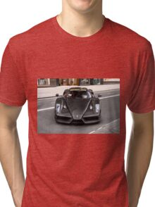 Full Carbon Fiber Ferrari Enzo  Tri-blend T-Shirt