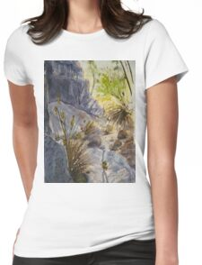 Along Stoney Creek Womens Fitted T-Shirt