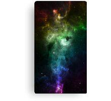 Rainbow Galaxy Canvas Print