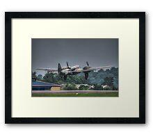 Bristol Blenheim Take Off Framed Print