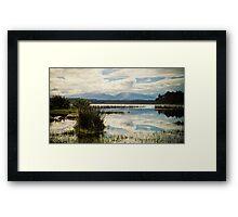 Lake Mahinapua Framed Print