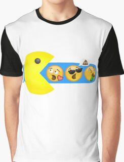 Hungry hungry Pacman Graphic T-Shirt