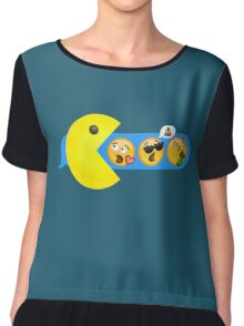 Hungry hungry Pacman Chiffon Top