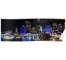 Sydney's Circular Quay Panorama Poster