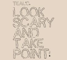 Look Scary and Take Point 1 Black by CaelisMiran