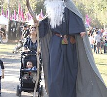 Stilt Walker at Medieval Fayre by JimmyChi
