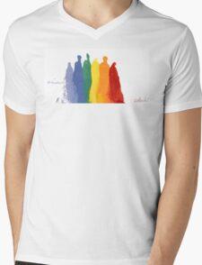 Tribal Love WIns Mens V-Neck T-Shirt