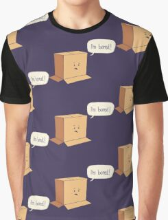 Card-Bored Graphic T-Shirt