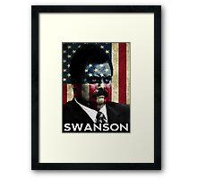 America Swanson - 4th of July Framed Print