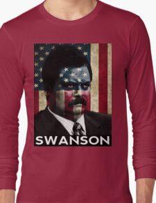 America Swanson - 4th of July Long Sleeve T-Shirt