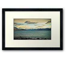 Tekapo Sunrise Framed Print