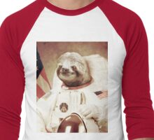 Astro Sloth Men's Baseball ¾ T-Shirt