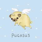 Pugasus by Katie Corrigan