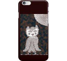 Olive Owl in the Dark iPhone Case/Skin