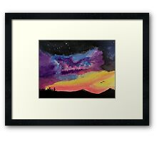 Western Galaxy Framed Print