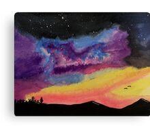 Western Galaxy Canvas Print