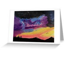 Western Galaxy Greeting Card