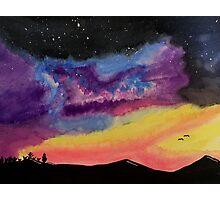 Western Galaxy Photographic Print