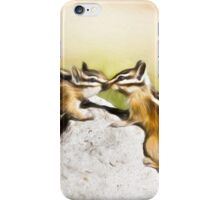 Chipmunk Love iPhone Case/Skin