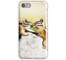 Chipmunk Love iPhone Case/Skin
