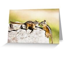 Chipmunk Love Greeting Card