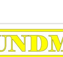 Soundman yellow Sticker