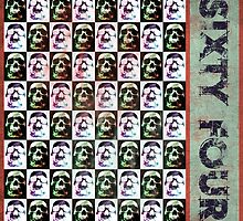 Sixty Four Skulls by Phil Perkins