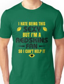 Redskins Fan Girl Quote Unisex T-Shirt