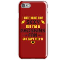Redskins Fan Girl Quote iPhone Case/Skin