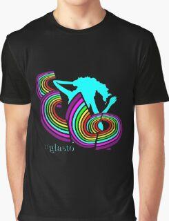 ELO Glastonbury 2016 unigrid rainbow Logo Graphic T-Shirt