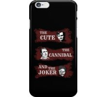 the cute, the cannibal and the joker (Will Hannibal Mason) iPhone Case/Skin