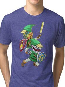 Hyrulogic Tri-blend T-Shirt