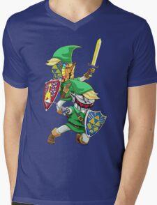 Hyrulogic Mens V-Neck T-Shirt