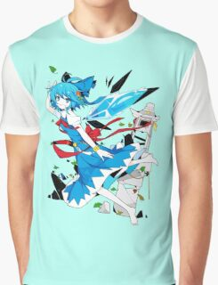 Touhou - Cirno Graphic T-Shirt