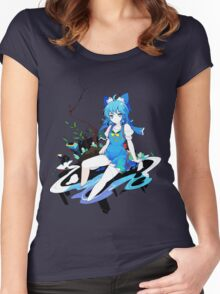 Touhou - Cirno Women's Fitted Scoop T-Shirt