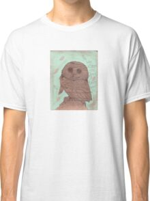 Wise Old Owl Classic T-Shirt