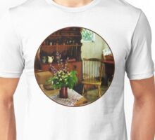 Wildflowers on Kitchen Table Unisex T-Shirt