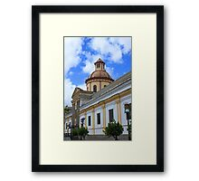 Facade of a Church Framed Print