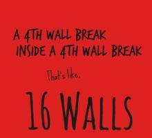 4th Wall Break by echosingerxx