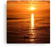 solitary journey - photography Canvas Print