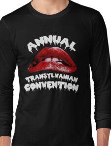 Rocky Horror   Annual Transylvanian Convention Long Sleeve T-Shirt