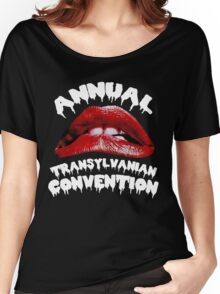 Rocky Horror   Annual Transylvanian Convention Women's Relaxed Fit T-Shirt