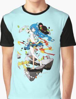 Touhou - Tenshi Hinanai Graphic T-Shirt