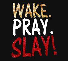 Wake Pray Slay Women's Fitted Scoop T-Shirt