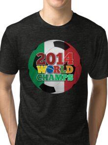 2014 World Champs Ball - Italy Tri-blend T-Shirt