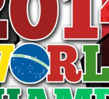2014 World Champs Ball - Italy Sticker