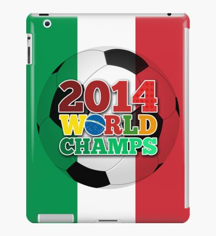 2014 World Champs Ball - Italy iPad Case/Skin